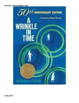 A Wrinkle in Time 50th Anniversary Guided Reading