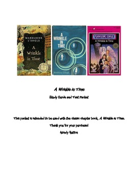 A Wrinkle in Time Assessment Packet