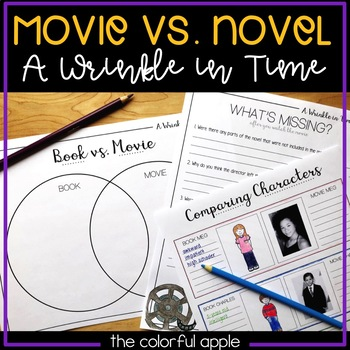 A Wrinkle in Time Book Movie Comparison