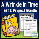 A Wrinkle in Time Bundle: Final Book Test and Book Report Project {35% Off}