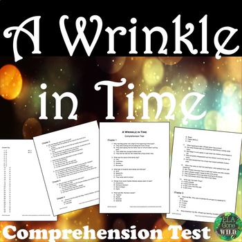 A Wrinkle in Time  Comprehension Test