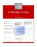 A Wrinkle in Time Complete Literature and Grammar Unit