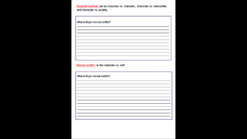 A Wrinkle in Time Novel Study with over 130 Pages of Practice and Lesson Plans