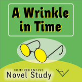 A Wrinkle in Time Comprehensive Novel Study Bundle - SL Book Reading Unit