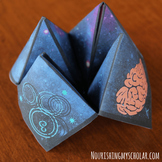 A Wrinkle in Time Cootie Catcher
