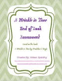 A Wrinkle in Time End of Book Assessment