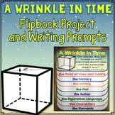 A Wrinkle in Time Flip Book Project, Writing Prompts and Activities