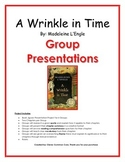 A Wrinkle in Time Group Presentations