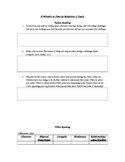 A Wrinkle in Time Guided Reading Packet