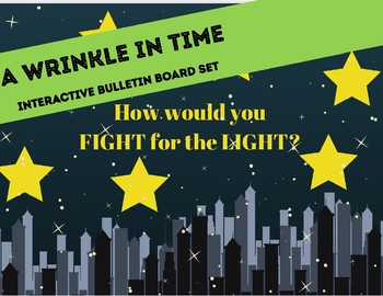 A Wrinkle in Time Interactive Bulletin Board Set