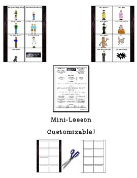 A Wrinkle in Time Interactive Notebook 8 Panel Fold-Ems FREEBIE