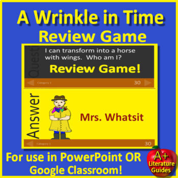 A Wrinkle in Time Review Game