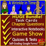 A Wrinkle in Time NOVEL STUDY Bundle SELF-GRADING GOOGLE F
