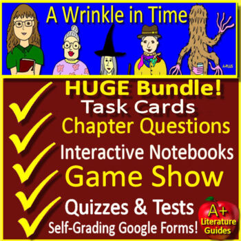A Wrinkle in Time Unit Novel Study