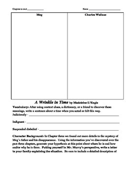 A Wrinkle in Time Literature Unit