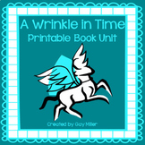 A Wrinkle in Time Novel Study: vocabulary, comprehension questions, skills