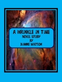 A Wrinkle in Time Novel Study--Common Core Aligned