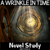 A Wrinkle in Time Novel Study   Distance Learning