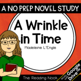 A Wrinkle in Time Novel Study   Distance Learning   Google Classroom™