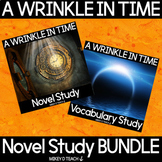 A Wrinkle in Time Novel Study BUNDLE   Distance Learning
