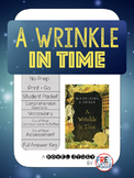 A Wrinkle in Time Novel Study {Common Core No Prep}