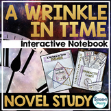 A Wrinkle in Time Novel Study Interactive Notebook