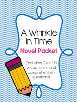 A Wrinkle in Time Novel Study Packet