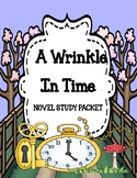 A Wrinkle in Time Novel Study Unit - Distance Learning