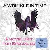 A Wrinkle in Time Novel Study for Special Education