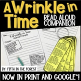 A Wrinkle in Time Read Aloud Companion for Distance Learning