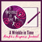 A Wrinkle in Time Reader's Response Journal