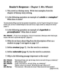 A Wrinkle in Time Readers Responses (Comprehension Questio