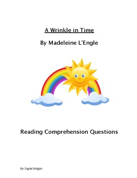 A Wrinkle in Time Reading Comprehension Questions