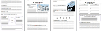 A Wrinkle in Time - Reading Guide, Comprehension Questions and Activities