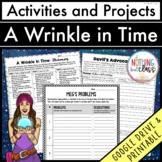 A Wrinkle in Time: Reading Response Activities and Projects