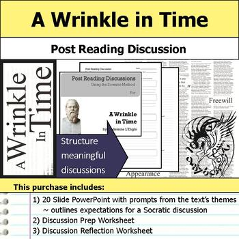 A Wrinkle in Time - Socratic Method - Post Reading Discussions
