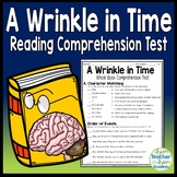 A Wrinkle in Time Test: Final Book Quiz with Answer Key