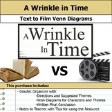 A Wrinkle in Time - Text to Film Venn Diagram and Film Essay
