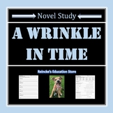 A Wrinkle in Time Vocabulary Activities