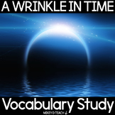 A Wrinkle in Time Vocabulary Study