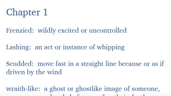A Wrinkle in Time (Vocabulary from the entire book)