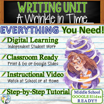 A Wrinkle in Time Writing BUNDLE Text Dependent Analysis Prompts