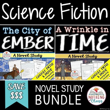 A Wrinkle in Time and The City of Ember Novel Studies: Science Fiction Bundle
