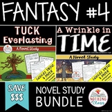 A Wrinkle in Time and Tuck Everlasting Novel Study Bundle