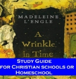 A Wrinkle in Time by Madeleine L'Engle Study Guide  for Ch