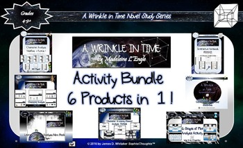 A Wrinkle in Time by Madeleine L'Engle Activity Bundle