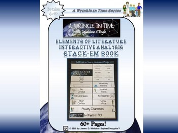 A Wrinkle in Time by Madeleine L'Engle Interactive Bundle