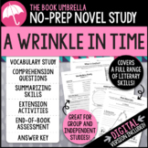 A Wrinkle in Time Novel Study - Distance Learning - Google Classroom