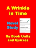 A Wrinkle in Time Chapter Comprehension Questions by Chapter