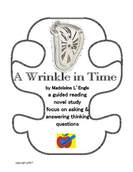 A Wrinkle in Time guided reading novel study